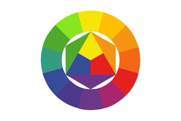 Een kleurencirkel