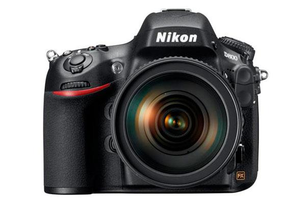 Een spiegelreflexcamera van Nikon