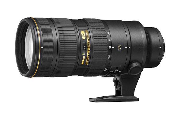 Een 70-200mm telezoom van Nikon